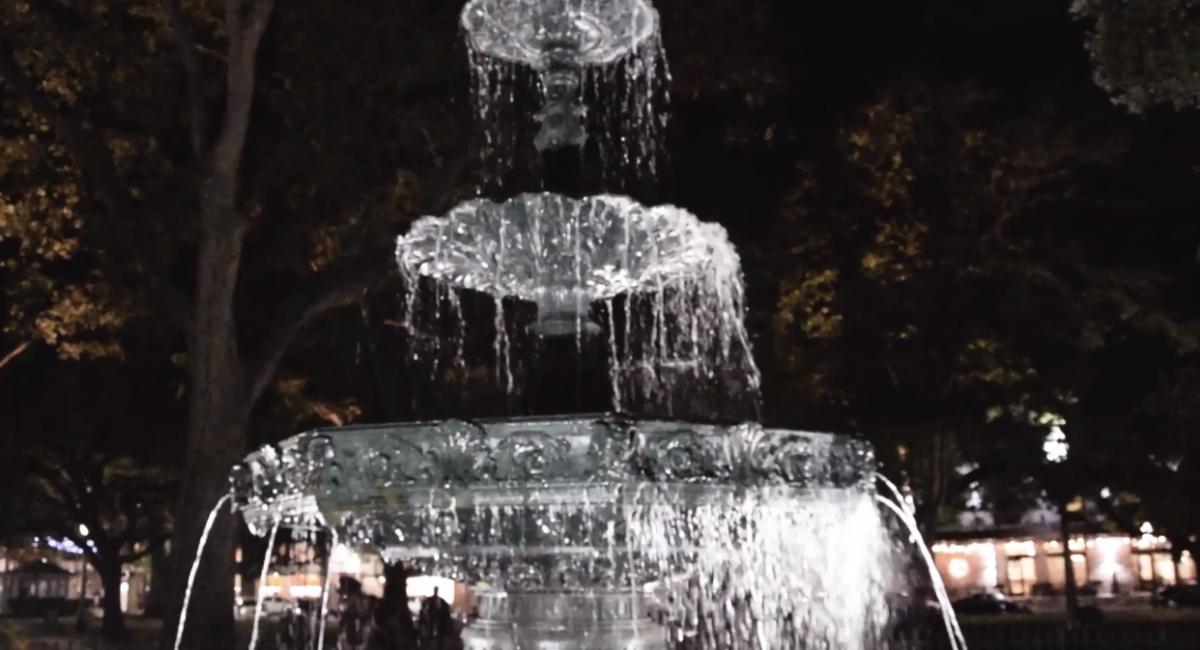 Fountain in Bienville Square